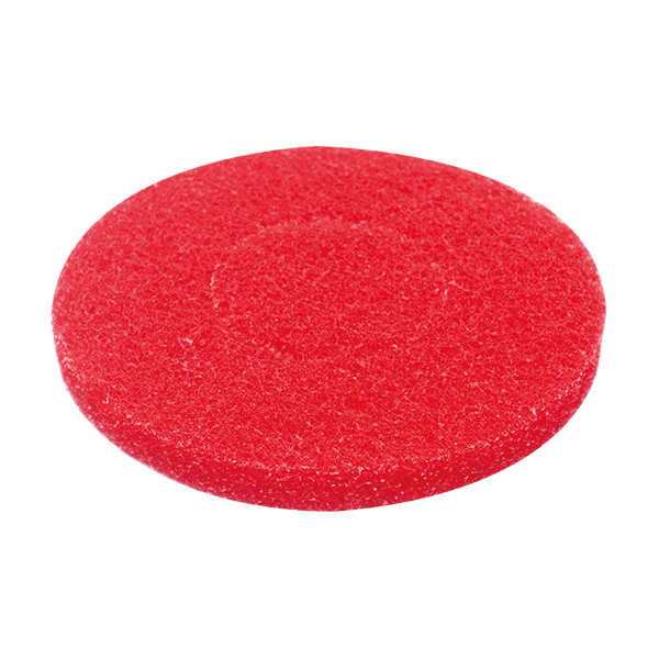 MotorScrubber red spray cleaning pads - Pack of 5