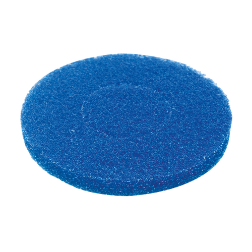 MotorScrubber blue general cleaning pads - Pack of 5 -  Portable Scrubber Pad - Motorscrubber