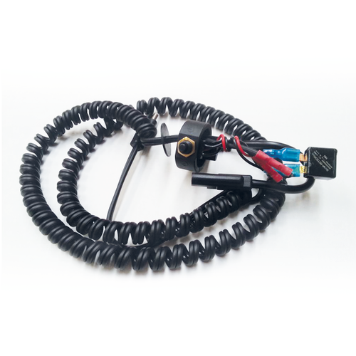 MotorScrubber on / off switch and wiring loom (125cm handle version) -  Portable Scrubber Switch - Motorscrubber