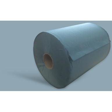 1ply Blue Centrefeed Blue Roll 200m - Pack of 6