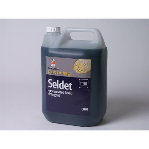 Selen Seldet Concentrated Liquid Detergent -  Janitorial Products - Selden