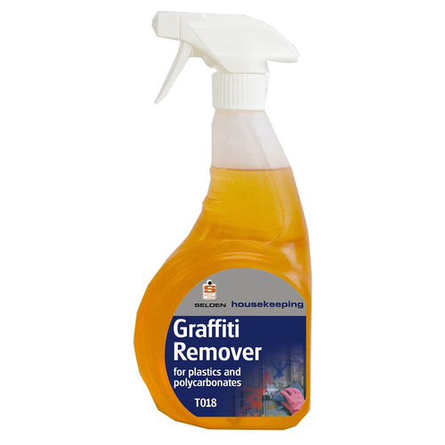 Selden Graffiti Remover For Plastics And Polycarbonates - 750ml