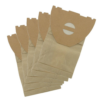 Paper dust bags by Candor to fit Nilfisk Ergo & Electrolux Ergoclean Hip-Vac UZ964 - Pack of 5