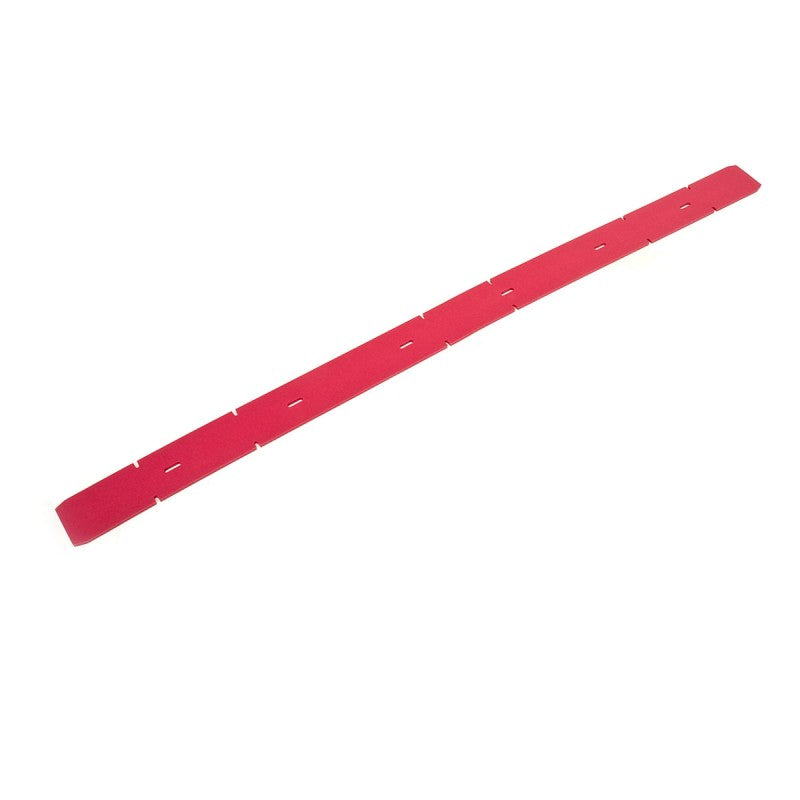 Viper Fang 24 and Fang 26 Front Squeegee Blade - Neoprene Red