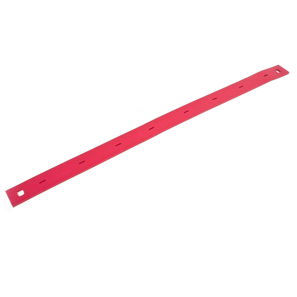 Viper Fang 24 and Fang 26 Rear Squeegee Blade - Neoprene Red