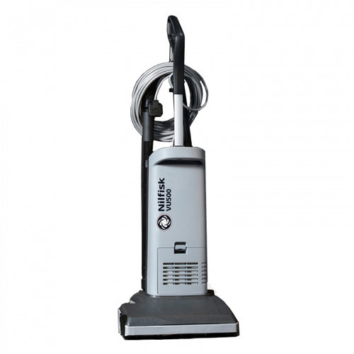 Nilfisk VU500 Upright Vacuum Cleaner - 12 Inch Cleaning Head -  Upright Vacuum Cleaner - Nilfisk Alto