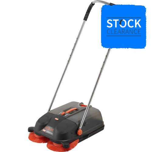 Vax VCS01 Walk Behind Push Sweeper - Brand New - STOCK CLEARANCE