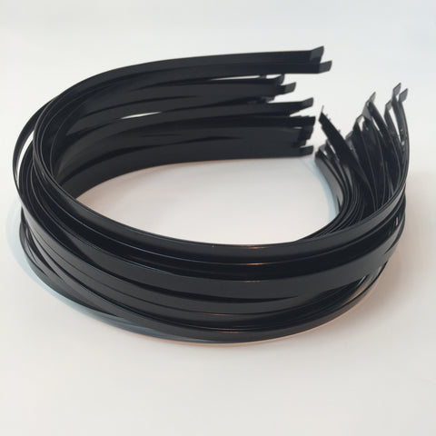 Black Metal Headband