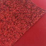 Imperfect Red Premium Chunky Glitter