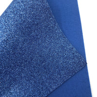 Denim Blue Glitter Felt