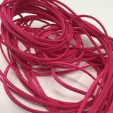 Berry Pink Faux Suede Cord 5 yards