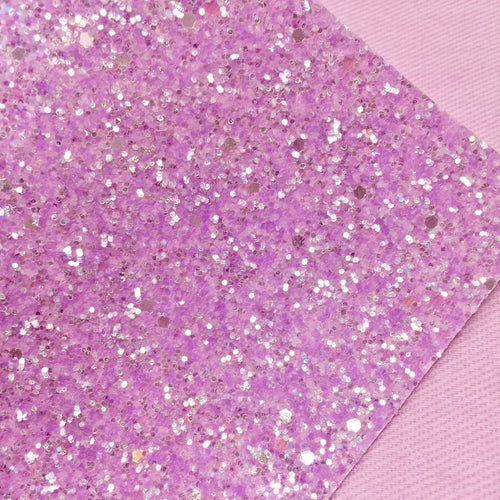 Pastel Purple Ice Chunky Glitter