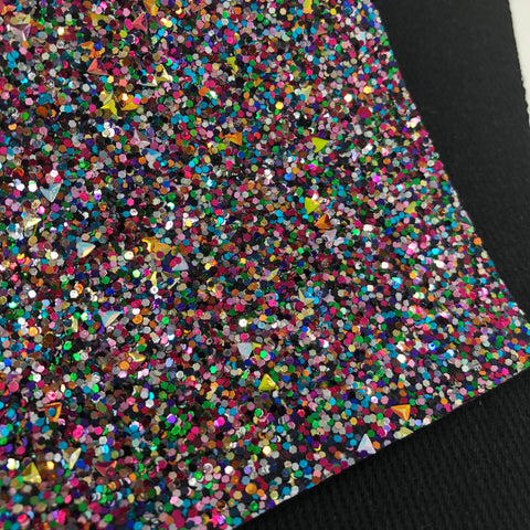 Fabulous Triangles Chunky Glitter