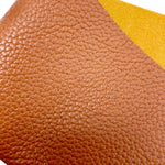 Gingerbread Textured Faux Leather