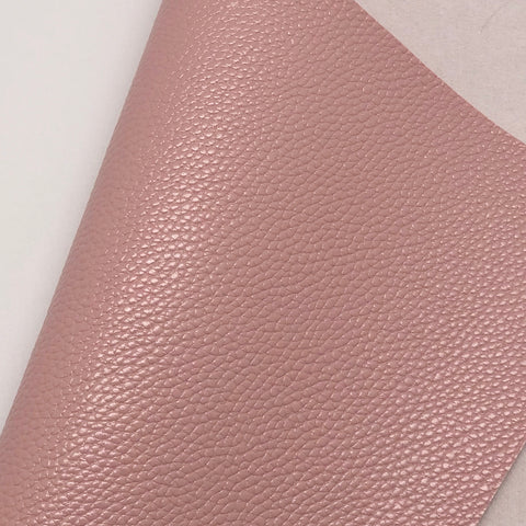 Light Mauve Textured Faux Leather