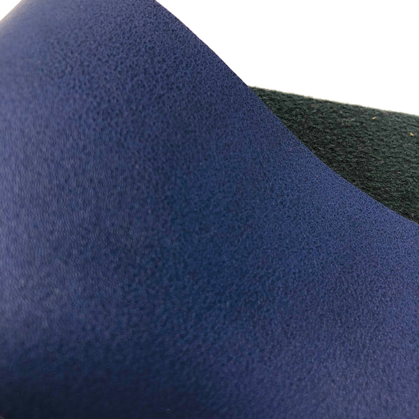 Navy Smooth Faux Leather
