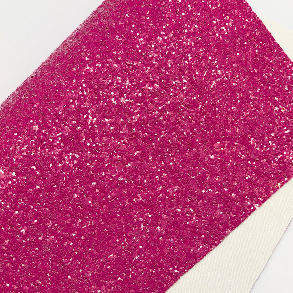 Imperfect Dark Pink Crayon Chunky Glitter