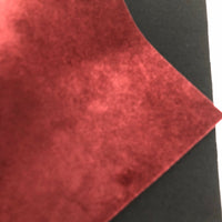 Burgundy Velvet Fabric Sheet
