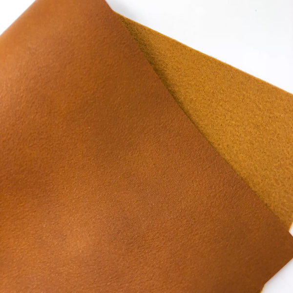 Caramel Latte Smooth Faux Leather