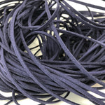 Navy Faux Suede Cord 5 yards