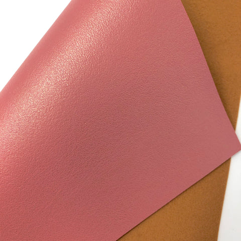 Blush Pink Shimmer Faux Leather