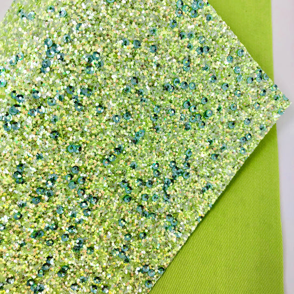 Grassy Knoll Sequined Premium Chunky Glitter