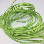 Lime Green Faux Suede Cord 5 yards