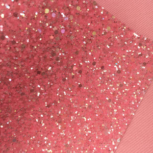 Girly Pink Ice Chunky Glitter