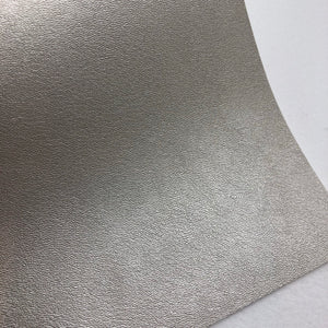Imperfect Pale Silver Faux Leather
