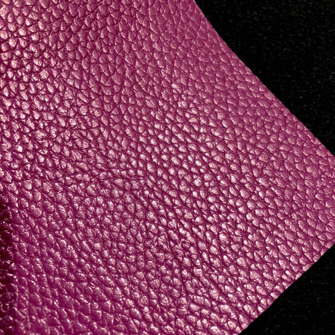 Imperfect Plum Textured Faux Leather
