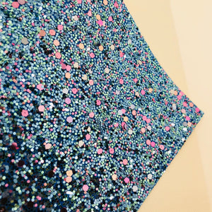 Ocean Waves Chunky Glitter Sheet