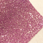 Pastel Purple Ice Chunky Glitter-White backing