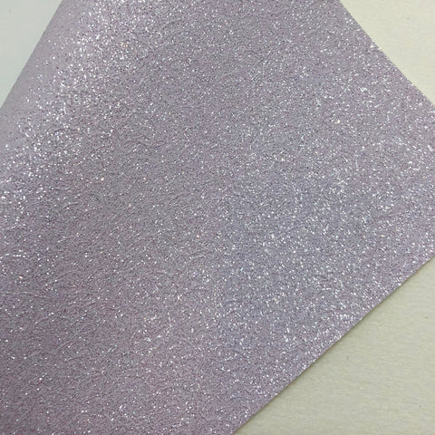Shimmer Lavender Cracked Fine Glitter Canvas