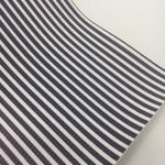 Mini Monochrome Striped Faux Leather