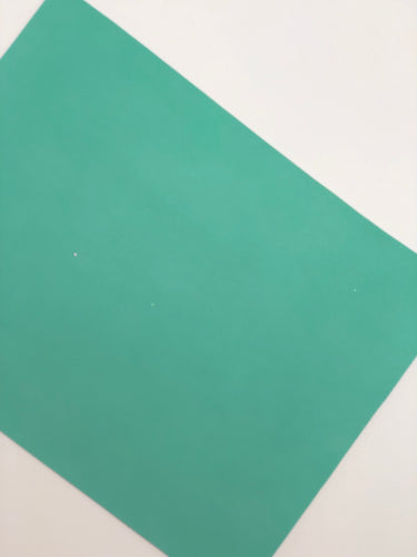 Imperfect Mint Smooth Faux Leather
