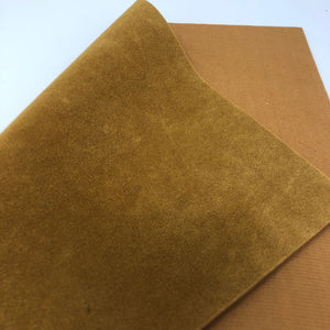 Imperfect Caramel Jewel Faux Suede Sheet