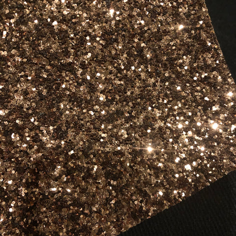 Light Brown Premium Glitter Sheet