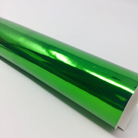 Imperfect Green Mirror Faux Leather
