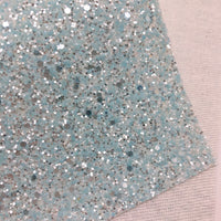 Light Blue Ice Chunky Glitter