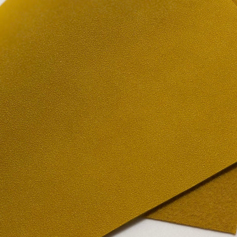Mustard Yellow Soft Faux Suede