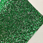 Eagles Green Chunky Glitter
