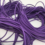 Purple Faux Suede Cord 5 yards