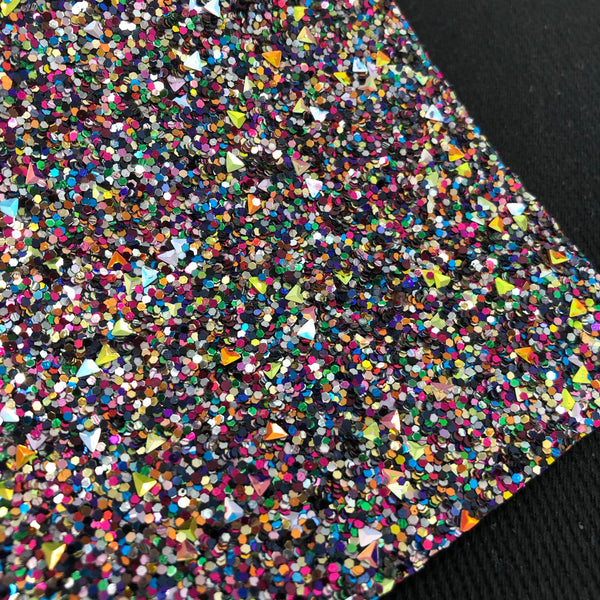 Resolution Triangles Chunky Glitter