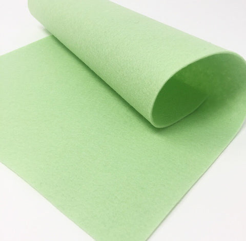 "Apple Green Felt Sheet 8"" x 12"""