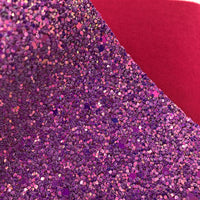 Magenta Magic Chunky Glitter Sheet