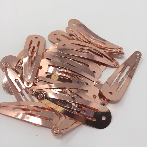 Rose Gold Snap Clip