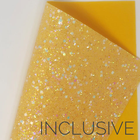 Inclusive Shapes Chunky Glitter