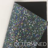 Determined Shapes Chunky Glitter