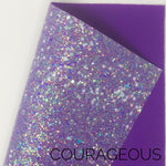Courageous Shapes Chunky Glitter