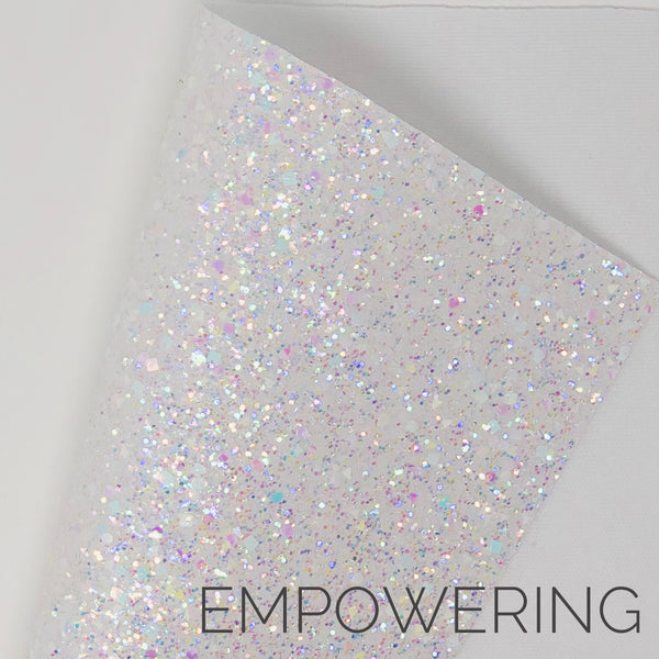 Empowering Shapes Chunky Glitter